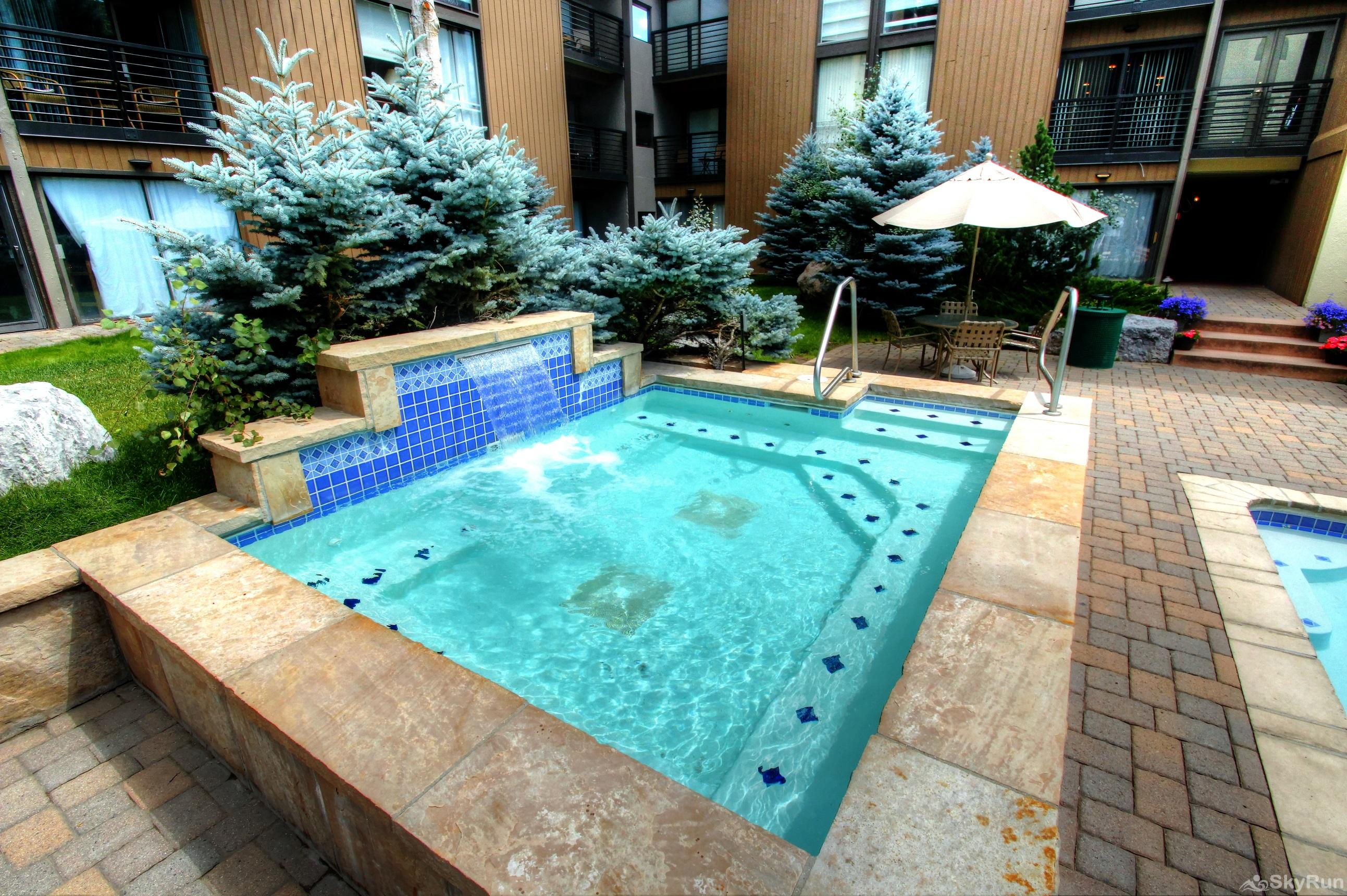 111 Vail International Hot Tub